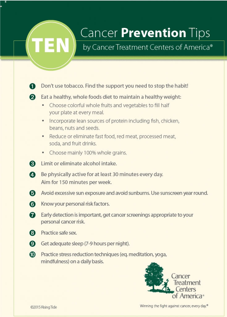 ten-tips-for-cancer-prevention