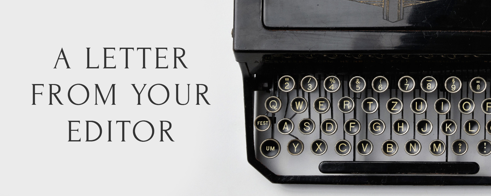 Letter from Your NOU Editor